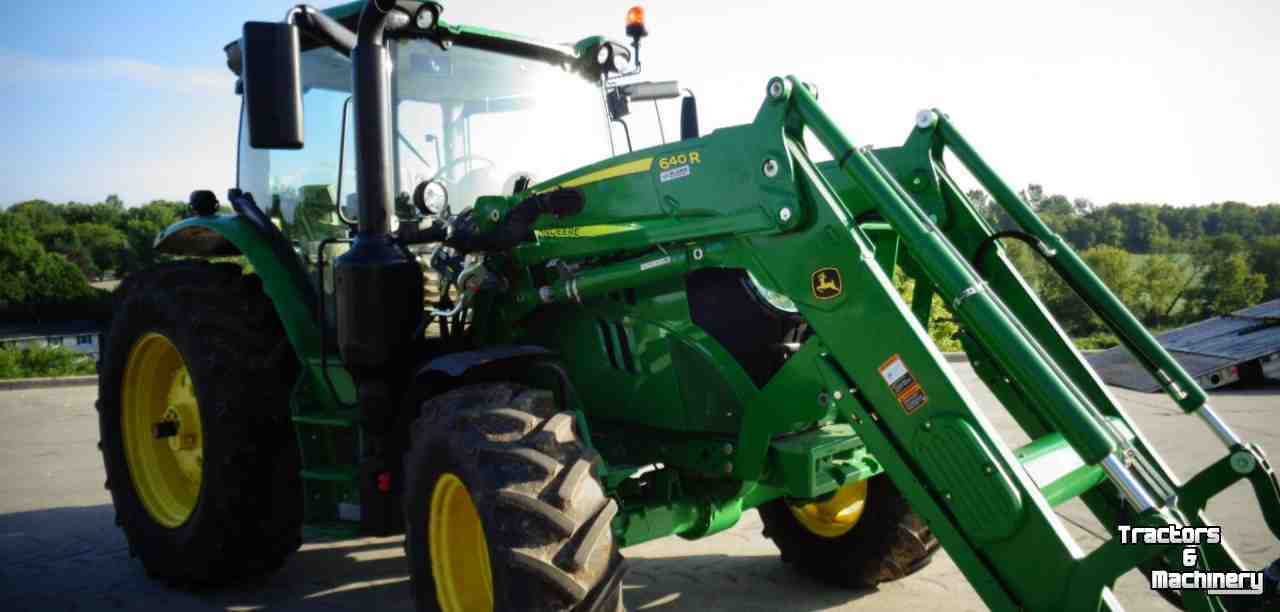 John deere single point hookup