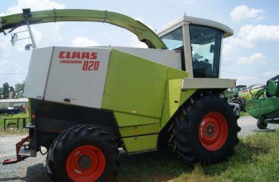 Claas Jaguar 820 W/6 Row Corn Head, 10' Pick Up - Used Forage-harvester -  28110 - Monroe - North-Carolina - USA