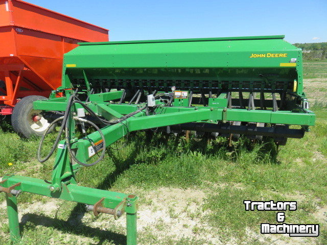 John Deere 1590 15' 15FT NO-TILL DRILL ONTARIO - Used Direct seeder - 2002  - N0M-1S3 - Exeter - Ontario - Canada