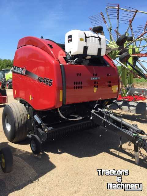 Case IH RB465 4X6 ROUND BALER MN USA - Used Balers - 2015