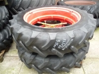 Wheels, Tyres, Rims & Dual spacers Michelin 13.6R38 3-ster