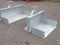 Tractor tipping boxes GRS GRS tractorbak transportbak grondbak 120 150 180