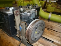 Used parts for forage harvesters Claas Complete airco pomp / airco pump / airconditioning pump