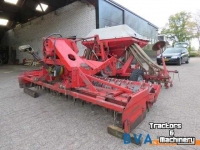 Seed Drill Combination Niemeyer KR 2630 Rotorkopeg + Accord D Pneumatische zaaimachine