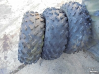 Wheels, Tyres, Rims & Dual spacers Carlisle 21x9.00-10 Work Mate 4 ply Quad ATV Trike Gator buitenband