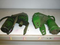 Used parts for forage harvesters John Deere Stelmotoren / adjustment engines, centraal mes / stationary knive