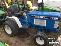 Tractors Ford 1220 4WD MINI COMPACT HYDRO TRACTOR ONTARIO
