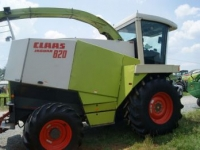 Forage-harvester Claas Jaguar 820 W/6 Row Corn Head, 10' Pick Up