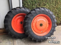 Wheels, Tyres, Rims & Dual spacers Michelin 420/85R38